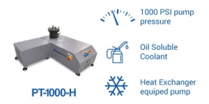 PT-1000-H pump PressureTech with heat exchanger