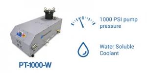 PT-1000-W pump PressureTech with water coolant