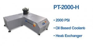 PT-2000-H pump PressureTech with oil coolant and heat exchanger