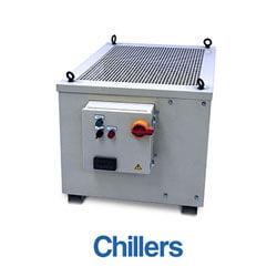 Pressuretech industrial coolant chillers