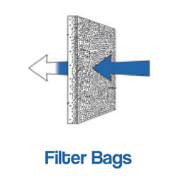 Pressuretech filter bags for industrial filers