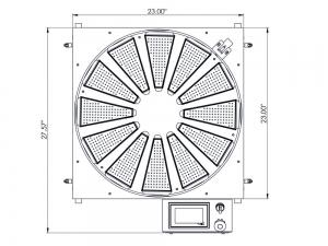 Part Carousel ST-22 PressureTech size chart